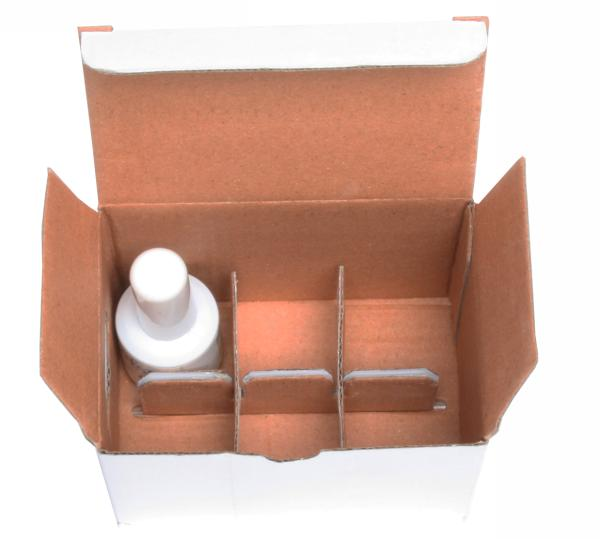 6 Cell Corrugated Box For Nail Polish Bottles